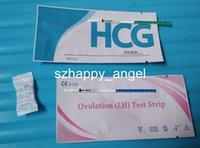 Wholesale High Sensitivity mIU ml Early Pregnancy Test Strip Ovulation Test Strip One Step Test Kit