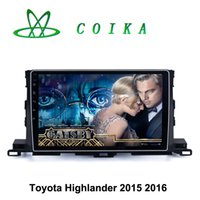 Highlander auto phone recorder - 10 Quad Core Android Lollipop Auto Tape Recorder For Toyota Highlander Car DVD WIFI G Mirror Phone Touch Screen