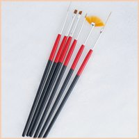 Wholesale High quality nail dotting tool set dotting tool nail art gel nail brush Nail Brush Kit Painting Tools