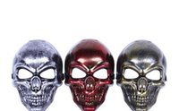 adult party items - 2016 New retro drip skull Halloween party a Halloween mask plastic items