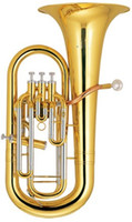 Wholesale Bb Brass Euphonium Piston with ABS case Musical Instruments Factory Supply OEM