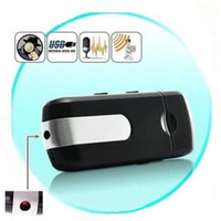 Wholesale USB Drive Hidden Spy Camera U8 Mini DVR Camcorder Motion Detector Security Cam Video Recorder with retail box