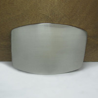 belt buckle blanks - BuckleHome fashion blank belt buckle with silver finish FP with continous stock