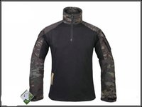 Wholesale Tactical Long Sleeve Combat Shirt Athletic Outdoor Apparel army combat shirt cargo multicam Airsoft paintball militar tactical clothing