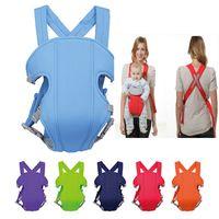 Wholesale 2016 Hot Baby Carrier Ergonomic Breathable Infant Backpack Newborn Sling Wrap Front Back Colors