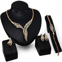 Wholesale 2016 New Europe and the United States exaggerated jewelry four sets of jewelry set one hand supply manufacturers direct