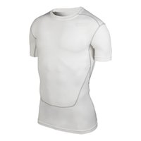 Wholesale Running Men Compression Base Layer Tee Shirts Athletic Tops Sports Collection New