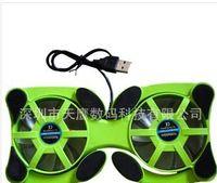 Wholesale Best price Mini USB Fan Octopus Laptop Notebook Fan Cooler Cooling Pad