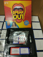 Wholesale Card Games Speak Out Game KTV praty Game card gamds for party Christmas gift Hasbro toy