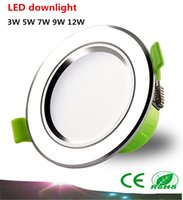 Wholesale High quality led downlight AC220V W W W W W SMD5730 LED spot light led ceiling lamp