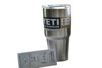 mugs - 2016 Hot Sale Rambler Tumbler oz YETI Cups Cars Beer Mug Large Capacity Mug Tumblerful