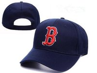 b baseball - New arrival classic Boston red sox baseball caps five panel brand hip hop cap swag style fitted hats snapback letter B bones
