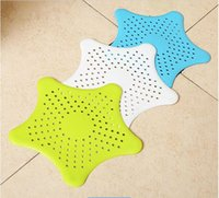 Wholesale Low Price Best Material cm Multifunction Convenient Kitchen Silicone Rubber Floor drain cover Five pointed Star