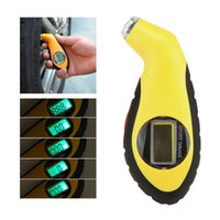 Wholesale New Arrival LCD Digital Tire Tyre Air Pressure Gauge Tester Tool psi For Auto Car Motorcycle