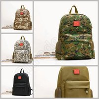 backpack camo - LJJL122 Hiking Camping Bag Army Military Tactical Trekking Backpack Camo Sports Outdoor Travel Hunting Shoulders Bag