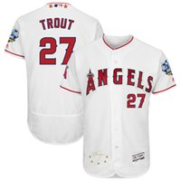 baseball game los angeles - Mens Los Angeles Angels of Anaheim Mike Trout Majestic White Baseball All Star Game Signature Flex Base Jersey