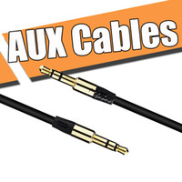 Wholesale 3 mm m ft AUX Audio Cables uxiliary cable male to male Stereo Car Extension audio Cable for MP3 for iphone for Samsung