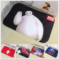 Wholesale God Meng cartoon mats black white slip mat cute fat suction pads