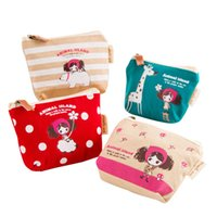 american girl cosmetics - Canvas Coin Purse Coin pouch coin bag key bag students girls Coin bag wallet cosmetic bag change bag organizer bag