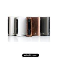 100% Original Eleaf iPower Kit 5000mAh Batería 80w TC Caja Mod 510 Thread fit <b>Eleaf Melo</b> 3 Tanque iStick Pico Eleaf iNano Kit