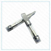Wholesale Pyrex Glass CBD Cartridge Atomizer Hemp oil Vaporizer CE3 Vape Tank A3 thread Dual Coil for BUD Touch O Pen Battery