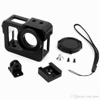 Wholesale Black A Section Housing Shell CNC Aluminum Alloy Rig Protective Case Frame For GoPro HD Hero