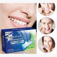 Wholesale 28pcs set Advanced Teeth Whitening Strips Degree Dental Whitening Pad Kit Enamel White Fast White strips