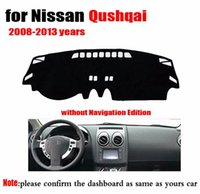 Wholesale Car Dashboard Cover Dashmat For Nissan QASHQAI without Navigation Edition Year Car Instrument Platform Desk Pad