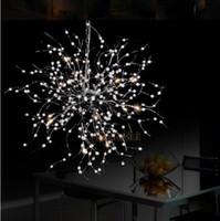 abs global - Beaded Floral Chandelier Light Fixture G4 lights Vintage French Chandelier Luster Suspension Hanging Light Global Lighting