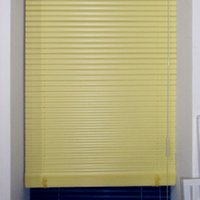 aluminum vertical blind - S type polymer Venetian blinds blackout curtains sunshade UV waterproof aluminum rail