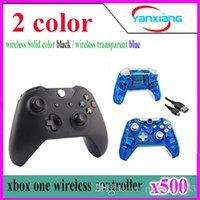 500pcs de haute qualité sans fil contrôleur / joystick / joypad pour xbox un YX-one-01