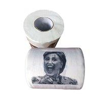 Wholesale 2016 hot sale Hillary Clinton Donald Trump Barack Obama Toilet Paper Novelty Funny Toilet Paper Gag Gift