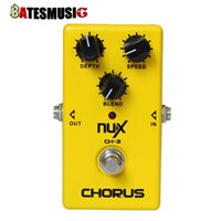 Wholesale NUX Effect Pedal CH Vintage Chorus True bypass hardware switching