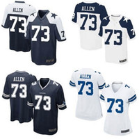 Wholesale Bigger Size XL XL XL Men s and Women s Larry Allen Elite Football Jerseys High Quality Stitched Name Number