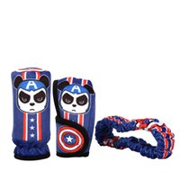 auto parts business - 2017 Preview New Handbrake sets mirror sets gear sets Car Interior Decorations Olympic Three piece Auto parts business Captain America