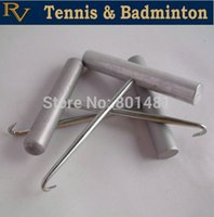 badminton stringing machines - stainless steel Hook for Tennis Racket badminton racket Stringing Machines Stringing machine accessories