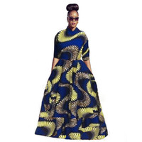 balls africa - 2016 Autumn Printed for African women plus size africa clothing Casual Elastic Dresses dashiki dress African women Big Swiming dresses
