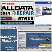 Wholesale 3 in Newest fit win7 win8 Alldata Mitchell ondemand mitchell manager plus with gb usb HDD