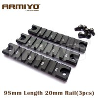 airsoft rail system - Armiyo G36 C Airsoft Weaver mm Picatinny Rail Base Mount set mm Length Rail System Hunting
