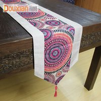 asian table cloths - Modern Southeast Asian minimalist geometric abstraction table flag table cloth tablecloth tea table cloth flag bed flag bed end