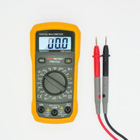 ac voltage tester - 2000 Counts PEAKMETER PM8233B Manual Ranging Digital Multimeter AC DC Voltage Detector Portable Tester Meter with Backlight