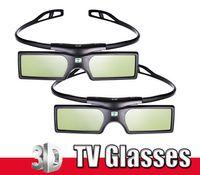 30 PC Bluetooth 3D TV vidrios del obturador activo para Samsung Panasonic Sony 3D Universal TV TV en 3D VR CAJA