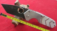 big folding knife - FAST Hong Kong Post New TwoSun C Blade Big Folding Stainless Steel Or G10 Handle Knife TS18 FS G10