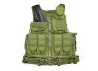 Men airsoft protective vest - Field CS protective Vest combat training mesh tactical vest Airsoft Paintball Clothes