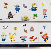 Wholesale PVC Zootopia Posters Wall Stickers for Kids Baby Room lego Decorative Wall Decals Art Force Awaken Wallpaper Kids Home Decoration