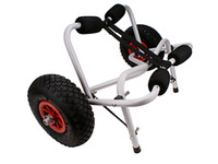 aluminum boat platform - New Boat Kayak Canoe Carrier Dolly Trailer Tote Trolley Transport Cart Wheel