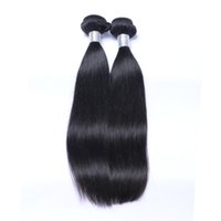 affordable hair extensions - 2pcs High Quality Malaysian Straight Hair Weave Raw Unprocessed Virgin Hair Affordable Hair Extensions No Shedding