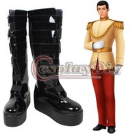 Wholesale Cinderella Prince Charming Cosplay Boot Adult Men Halloween Cosplay Shoes Custom Made