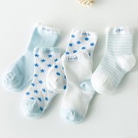 Wholesale baby cotton socks mesh star moon newborn girl boys infant toddler socks kids years old spring autumn