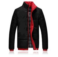 Wholesale 2016 men cotton padded clothes fashion in Europe and the leisure fashion men s jacket Winter down jacket